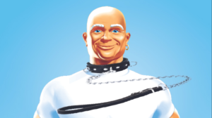 Mr. Clean on a Leash!